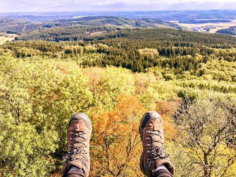 Wandelen naar Hoch Acht Eifel