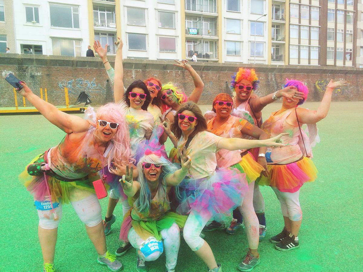 Colour run, colour, colour run vlissingen, colour your life, colours by the sea, vlissingen, run, runs, colour runs, bucket list, stripe away