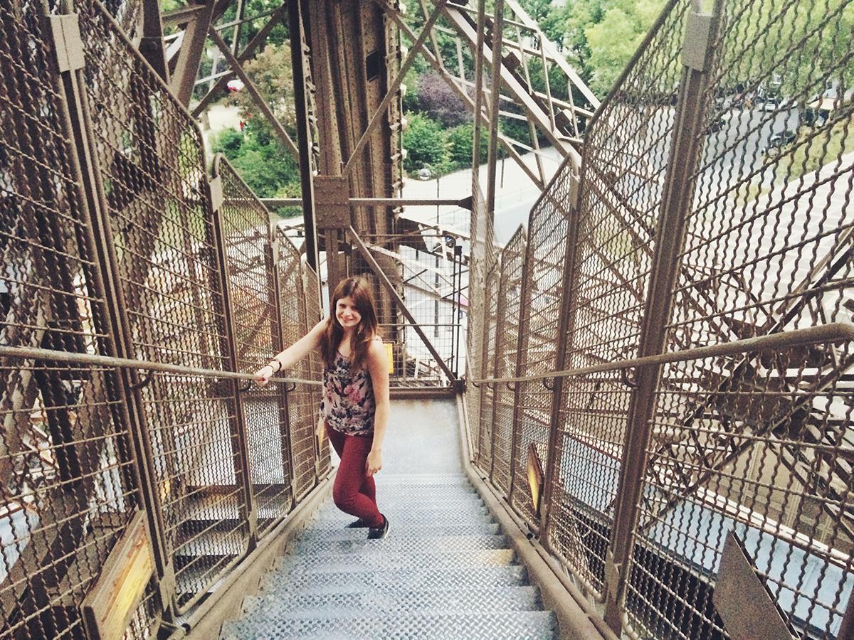 Eiffeltoren beklimmen en bezoeken