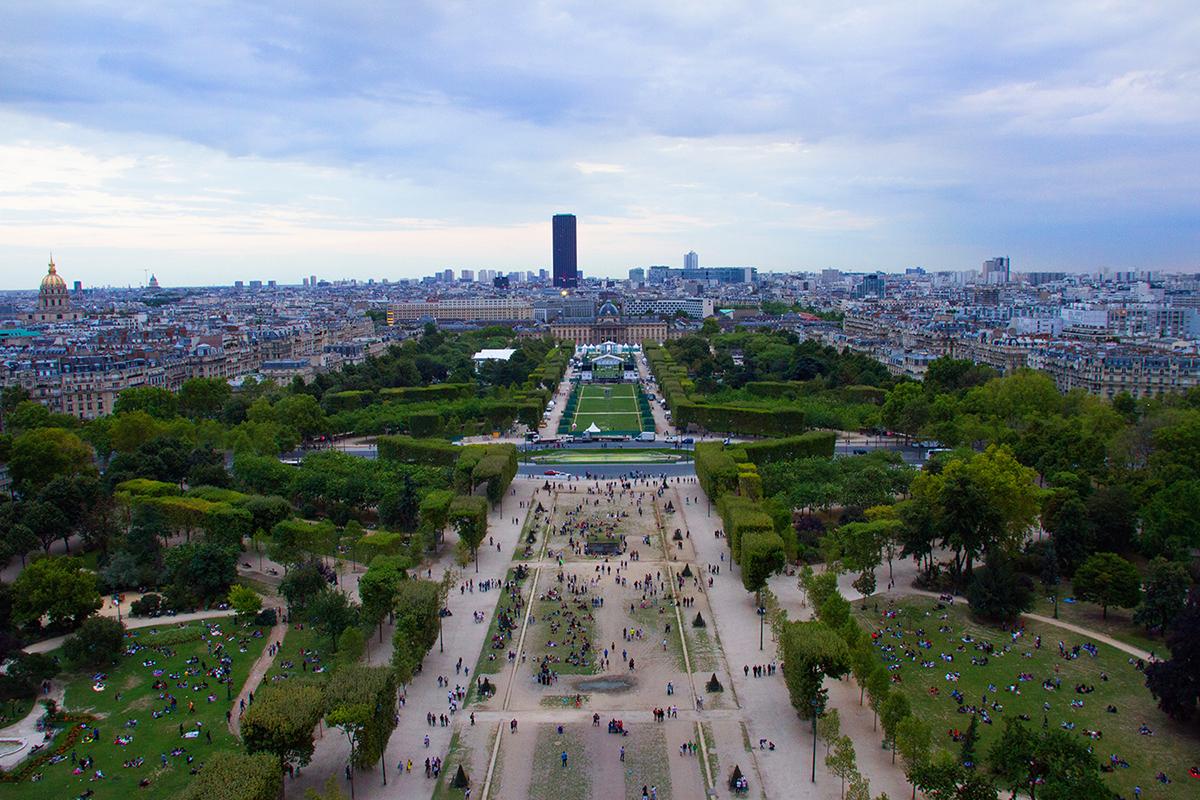 Bezoeken Eiffeltoren