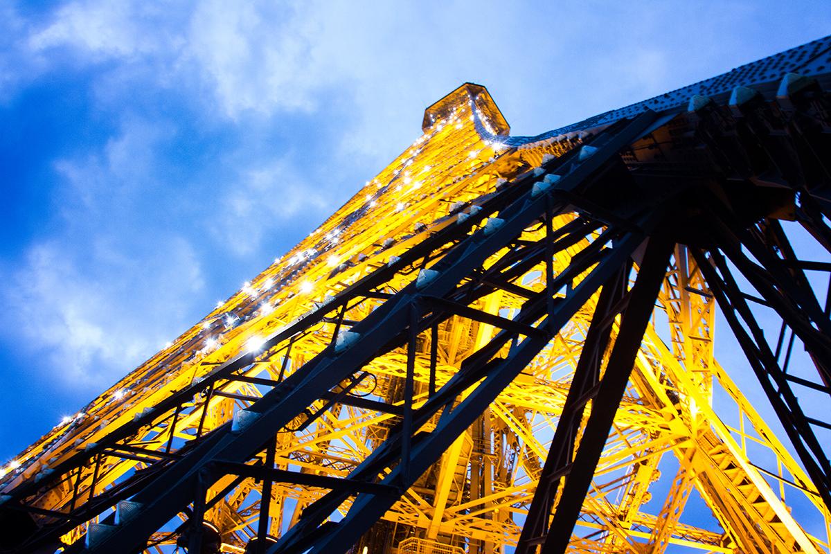 Beklimmen van de Eiffeltoren