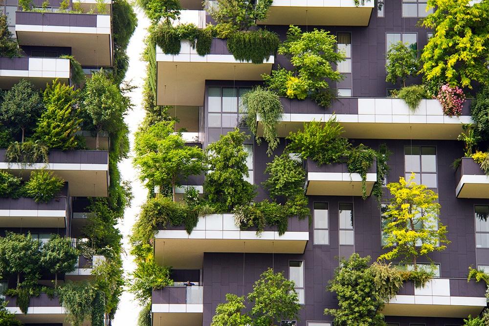 Bezienswaardigheid Bosco Verticale Milaan, bezienswaardigheden Milaan, Bosco Verticale Milaan, het verticale bos, het verticale bos in Milaan, Milaan Italie,