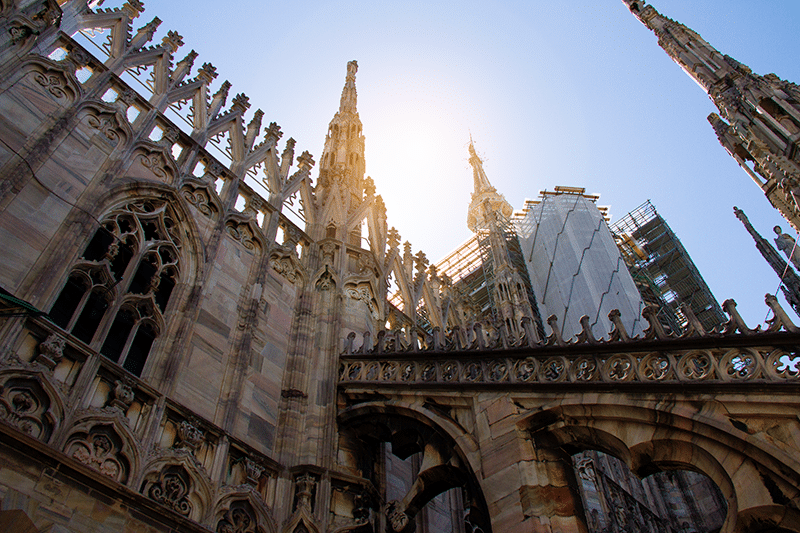 Catherdral Duomo in Milan, visting Milan, what to do in Milan, things to visit in Milan,