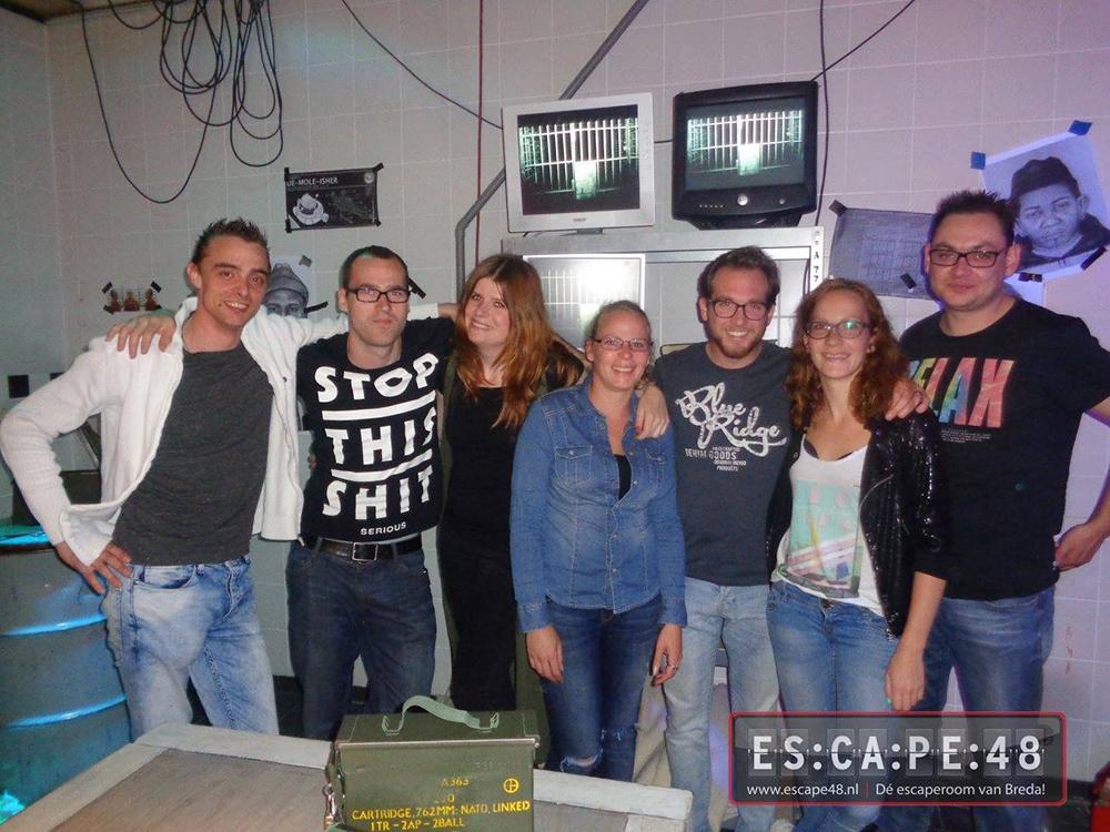 escape room breda, escape room, breda, escape breda, escape 48, de escape van breda, live op facebook,
