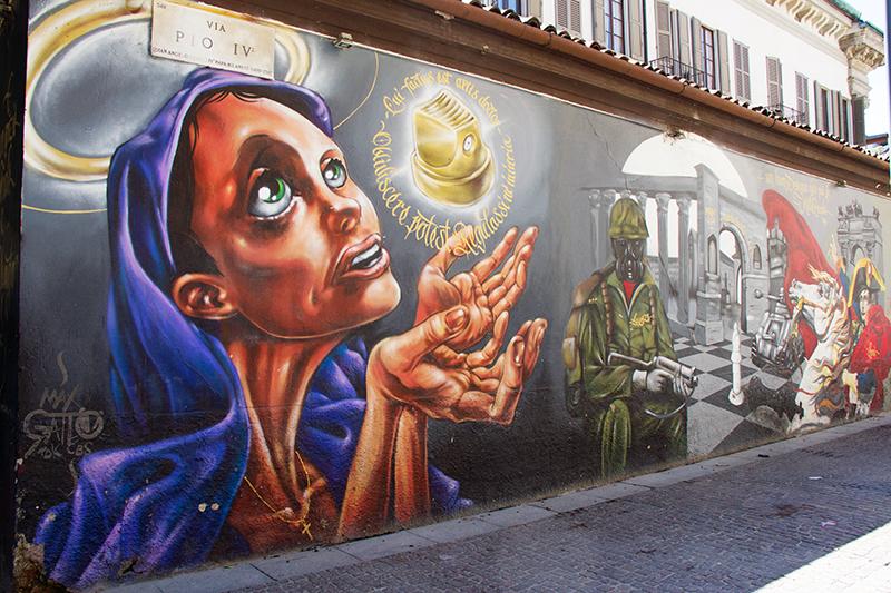 Street Art | Milaan in Italië