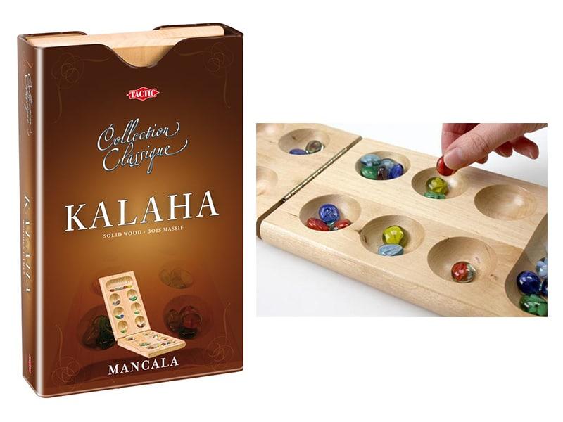Reisspellen voor op reis, reisspel Kalaha