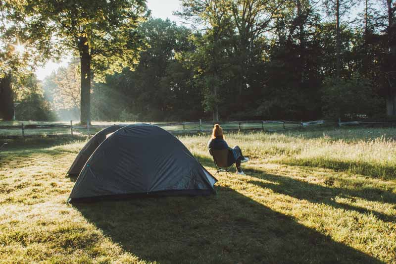 Kamperen bij de Grijzenberg Campspace