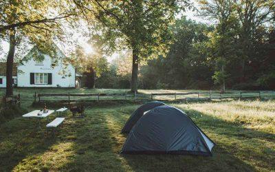 Kamperen met Campspace bij mensen thuis