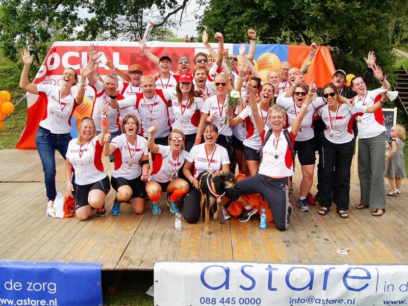 Socialrun | In 48 uur 555 kilometer door Nederland