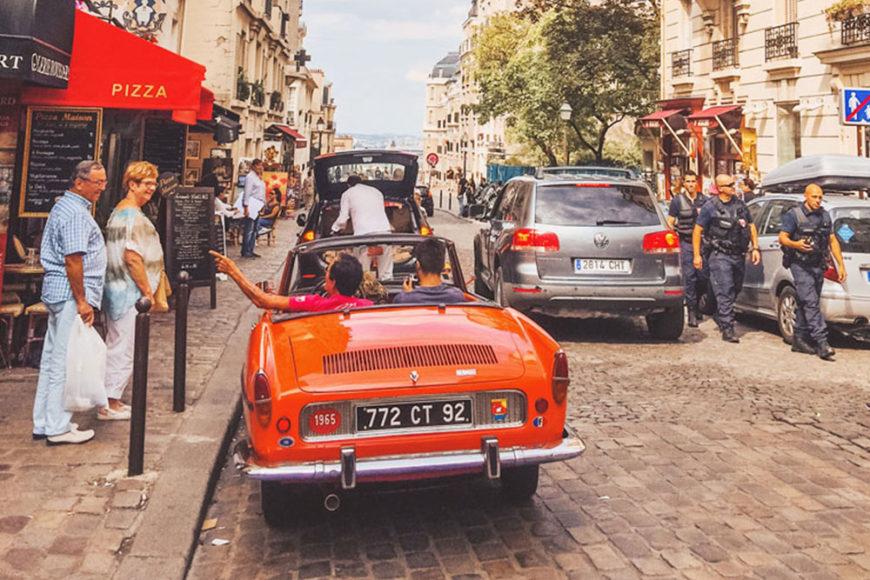 oranje, parijs, bezoek parijs, op reis door parijs, citytrip parijs,