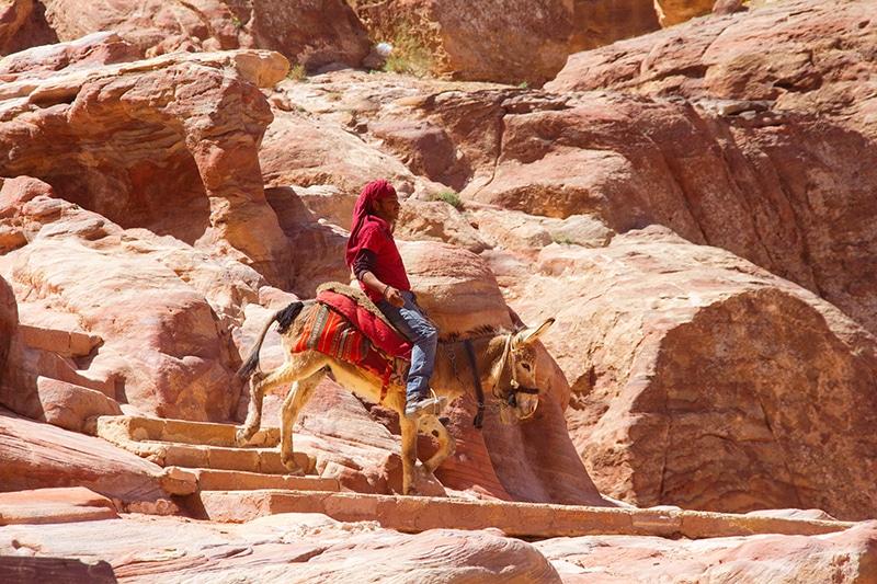 Petra Jordanië bezoeken