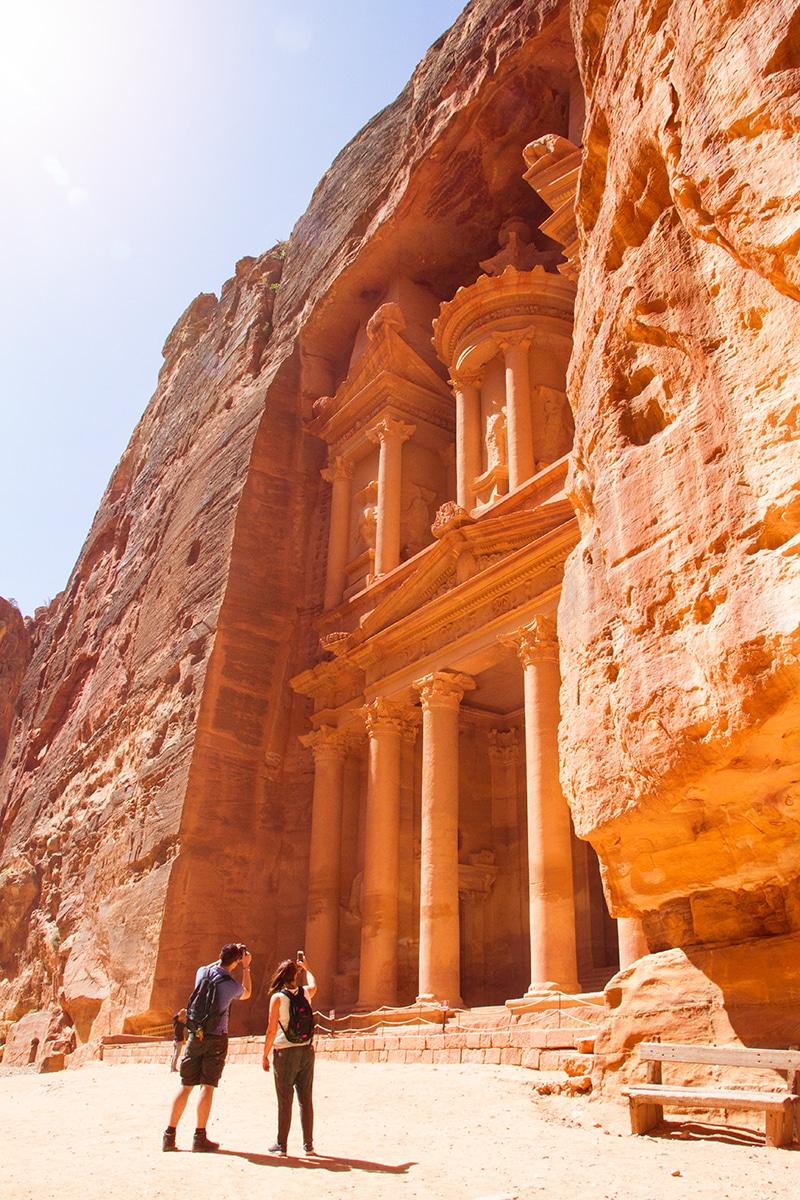 Al-Khazneh Petra Jordanië