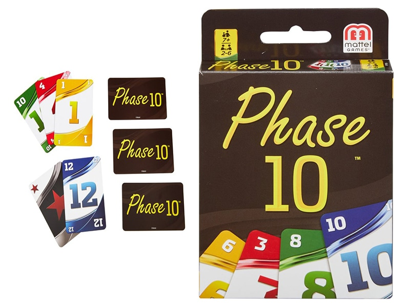Reisspel Phase 10