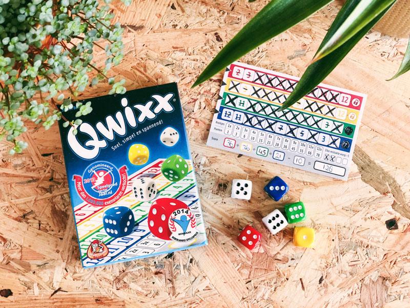 Reisspellen Qwixx