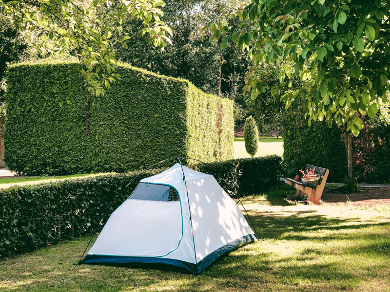 Review Decathlon MH100 tent