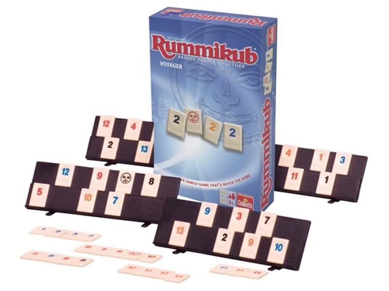 Reisspellen voor op reis, reisspel Rummikub