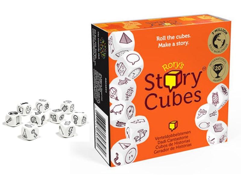 Regenwormen Story Cubes