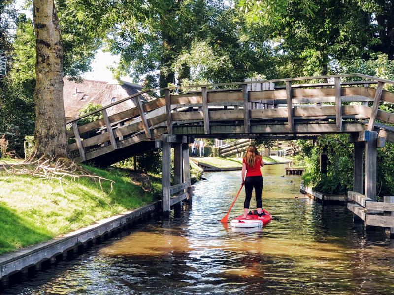 Suppen in Giethoorn | genieten vanaf het water
