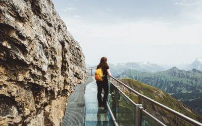 Thrill Walk op de Schilthorn  | een wandeling vol avontuur