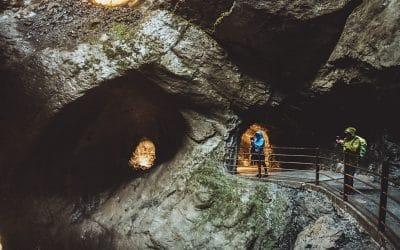 Bezoek aan de Trummelbach Falls in Lauterbrunnen