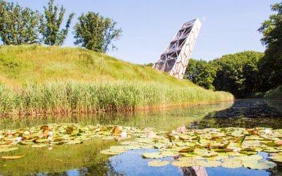 Beklim de uitkijktoren Pompejus in Bergen op Zoom