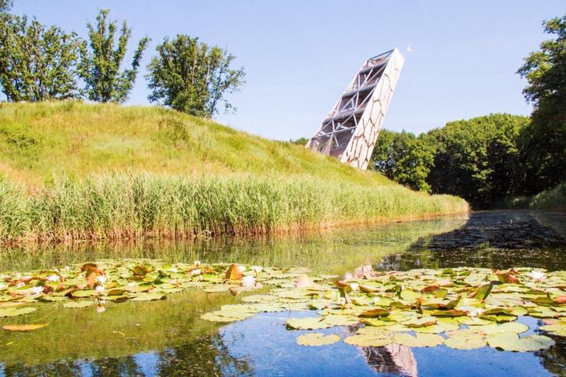 Uitkijktoren Pompejus Bergen op Zoom beklimmen