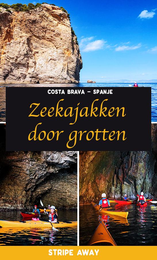 Zeekajakken Costa Brava