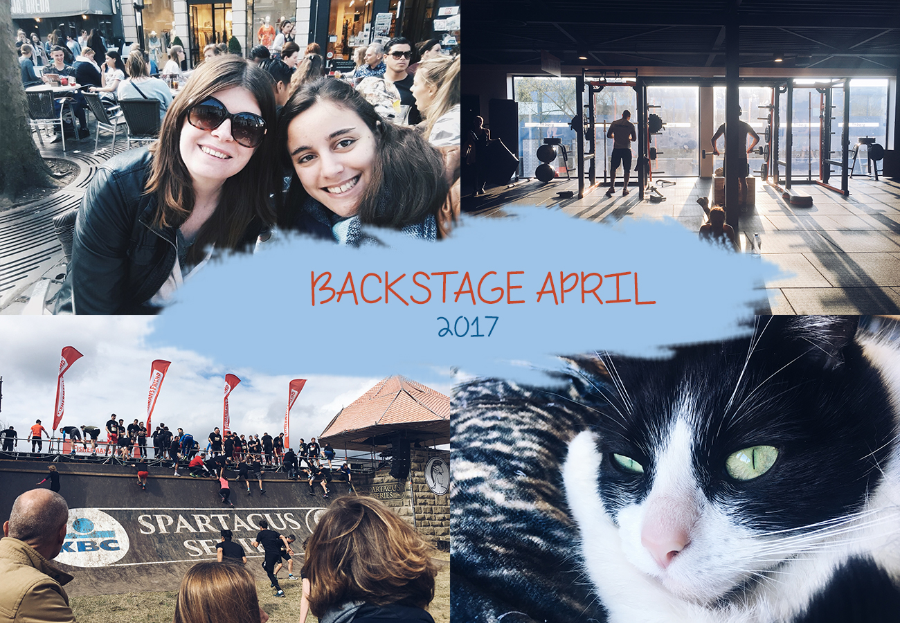 Backstage april 2017 | Spreken bij de Rabobank, spinning en ziek