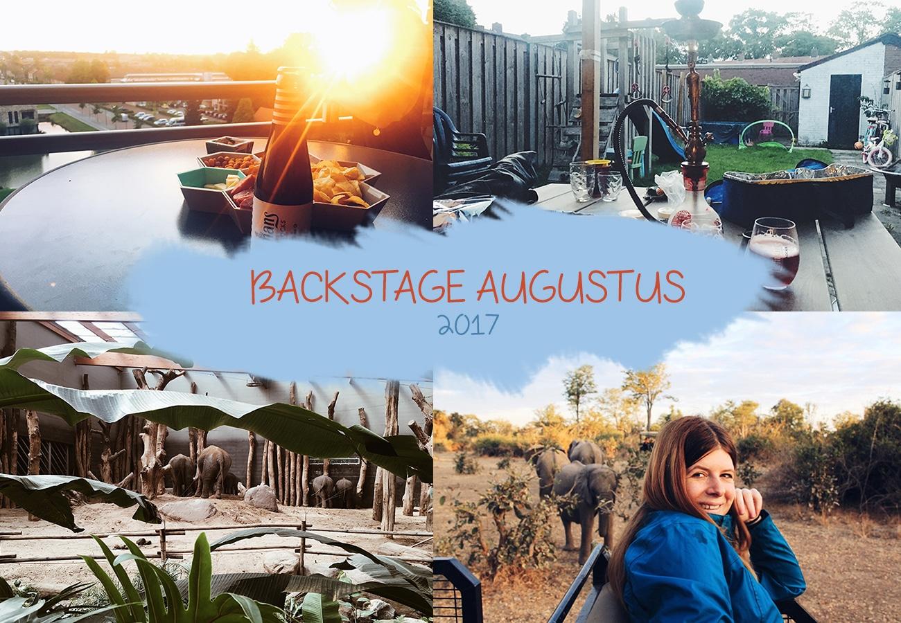 Backstage augustus 2017 | Veranderingen, Den Bosch en nieuwe extra baan
