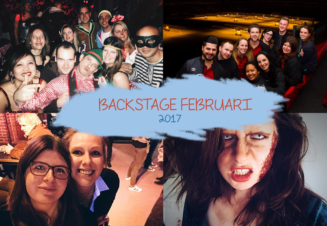 Backstage februari 2017 | verjaardag pappa, klunen en carnaval