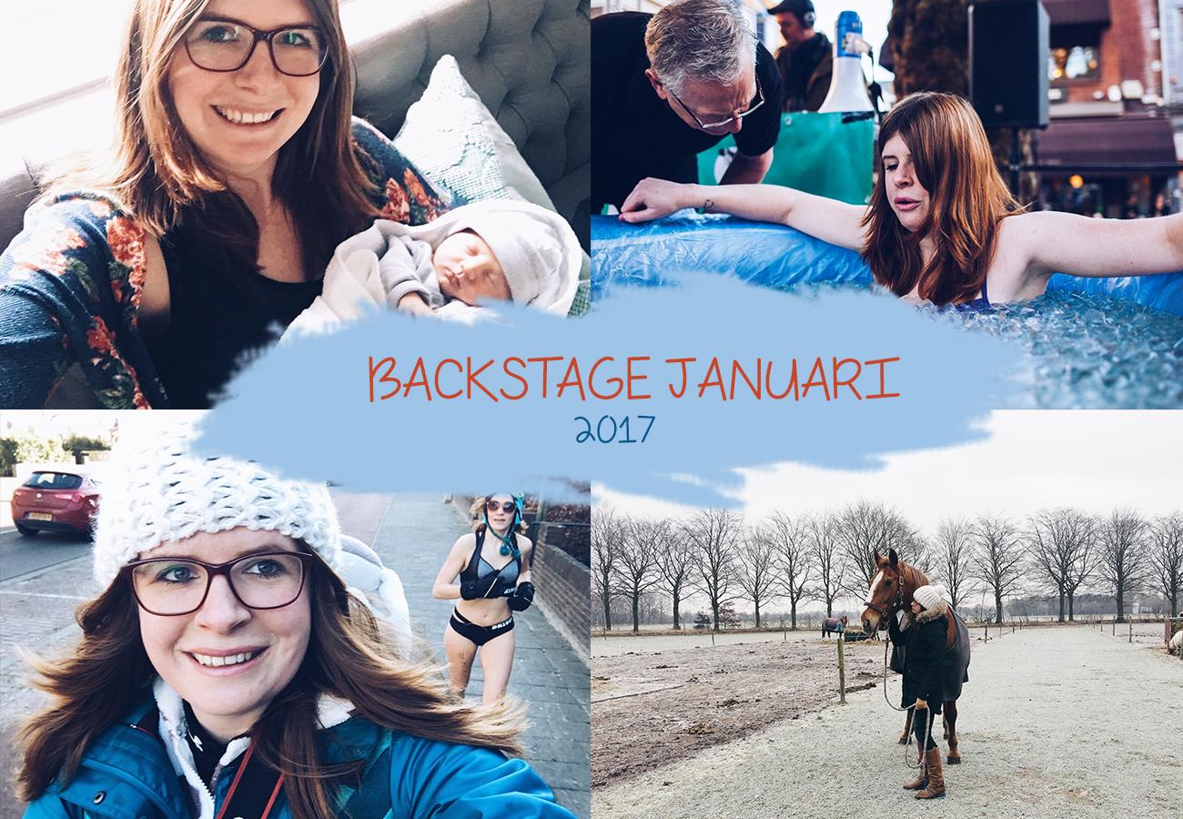 Backstage januari 2017 | nieuwe baan, de beruchte 30 en een ijsbad