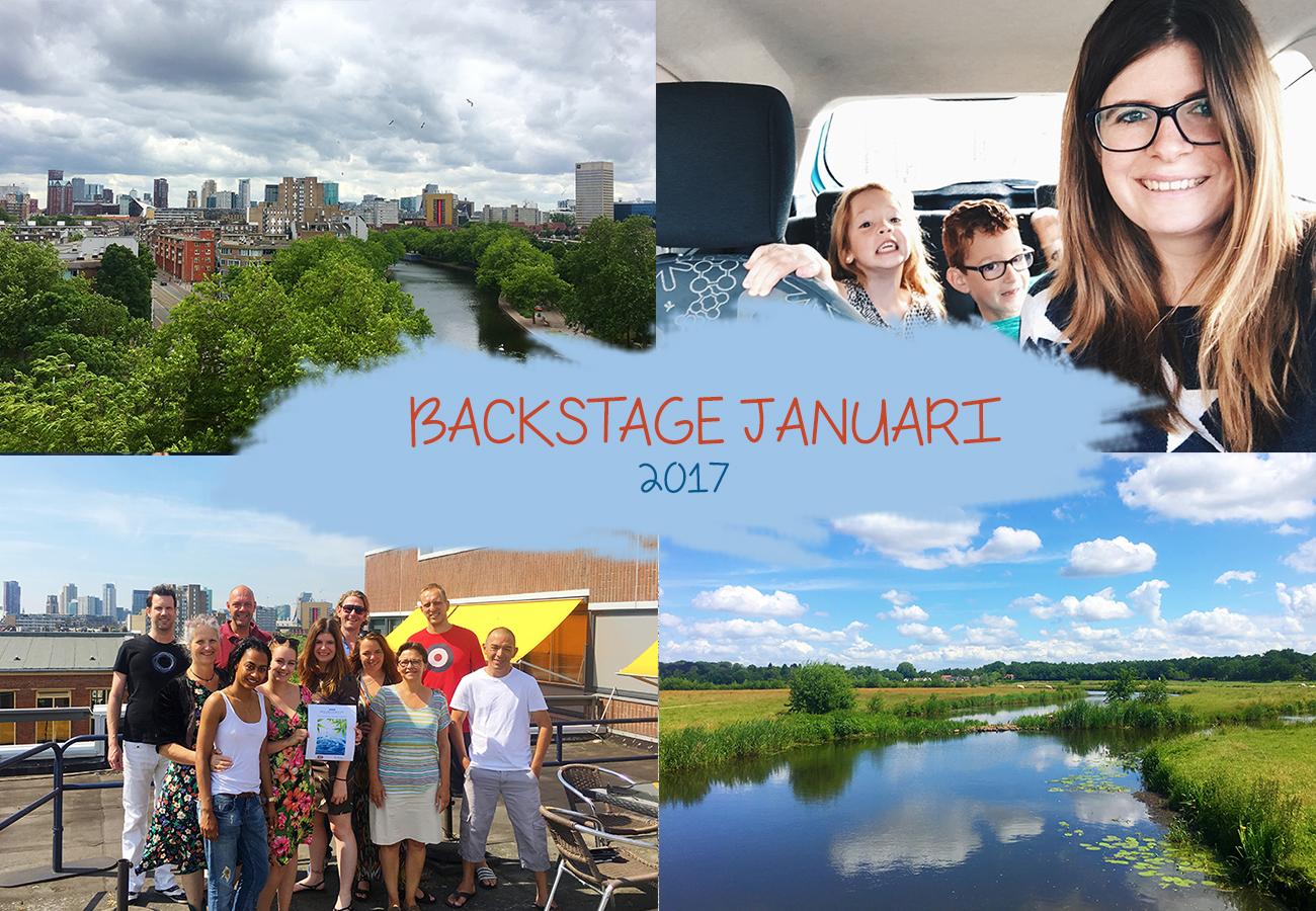 Backstage juni 2017 | Feesten, 4 verjaardagen & 3 cursussen
