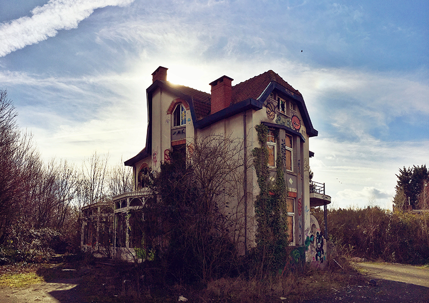 Ghost town Goal: the mysterious village near Antwerp