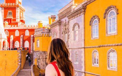 Paleis van Pena: het sprookje van Portugal