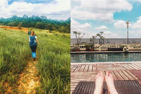 Reisdilemma zondag met hiken in Khao Yai national park of chillen in een hotel in bangkok