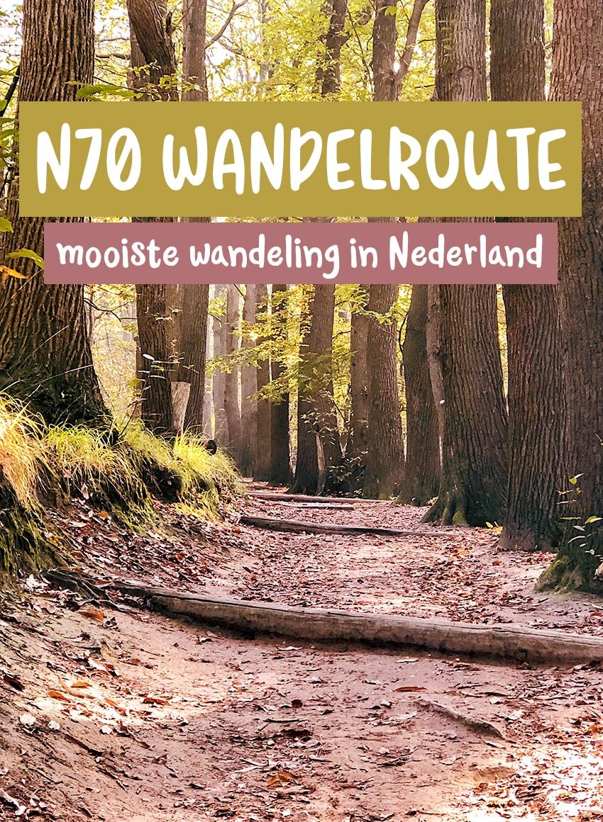 De mooiste wandelroute van Nederland de n70 wandelroute
