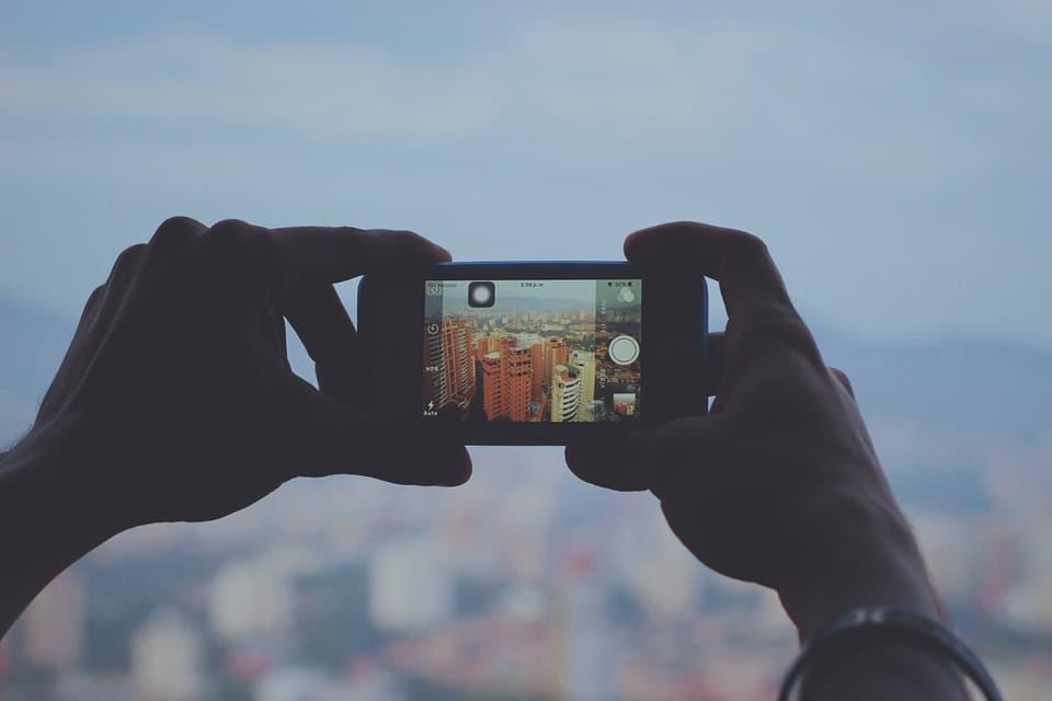 Smartphone op reis fotografietips