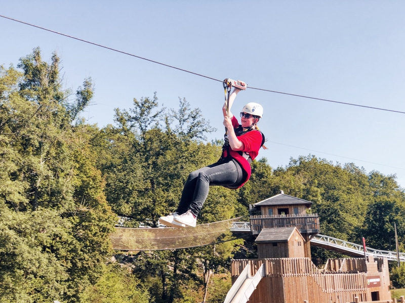 Adventure Valley Ziplinen Ardennen
